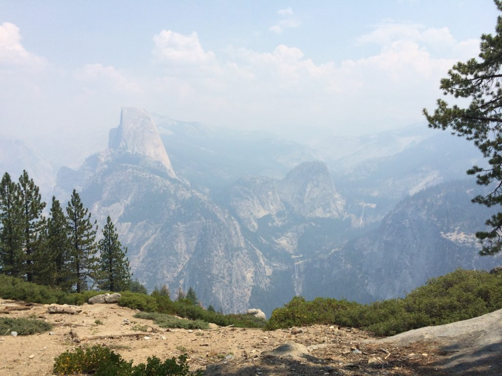 Half Dome Yosemite National Park Camping