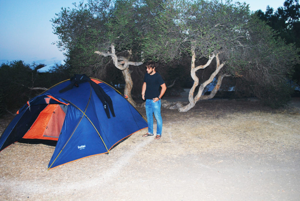 San Clemente State Beach Camping in California