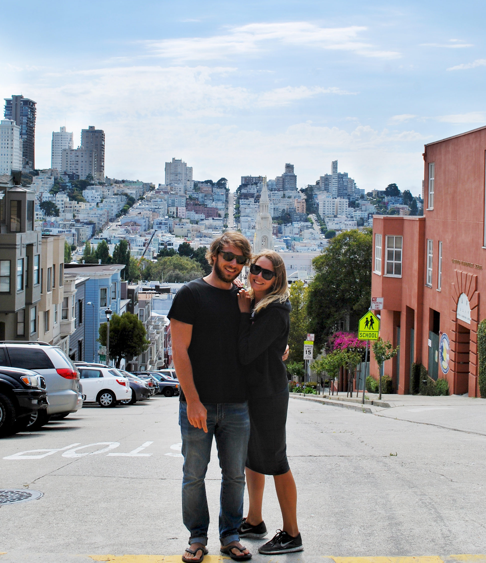 One day in San Francisco California