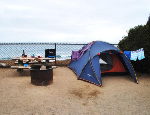 South Carls Bad Camping California