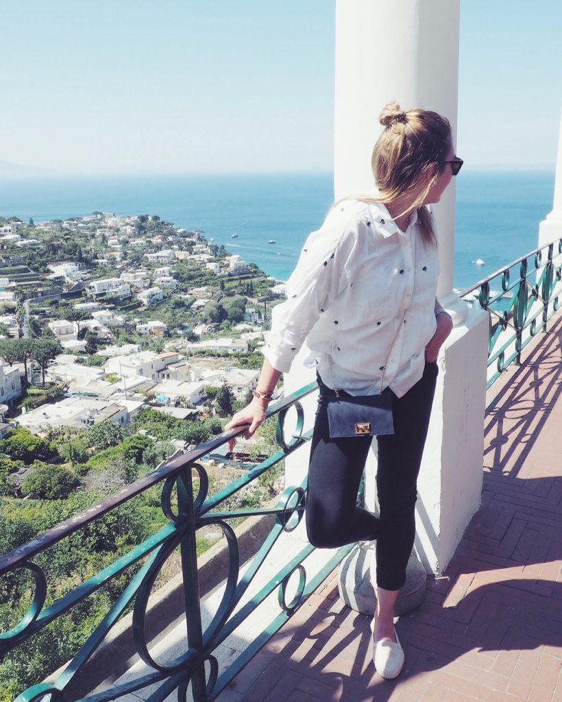 AIDA Mittelmeerkreuzfahrt Capri Italien