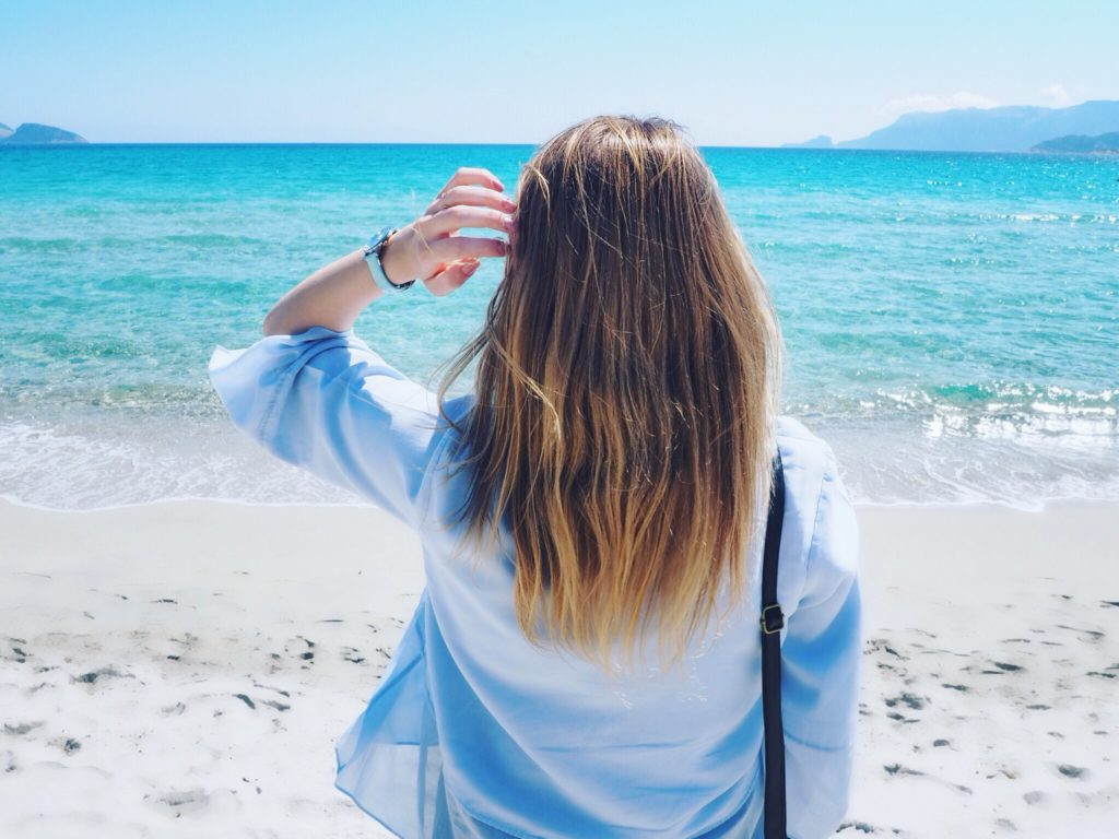 Olbia Strand Sardinien